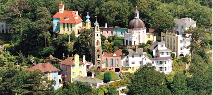 Portmeirion Italianate Village