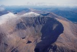 Snowdon from the air