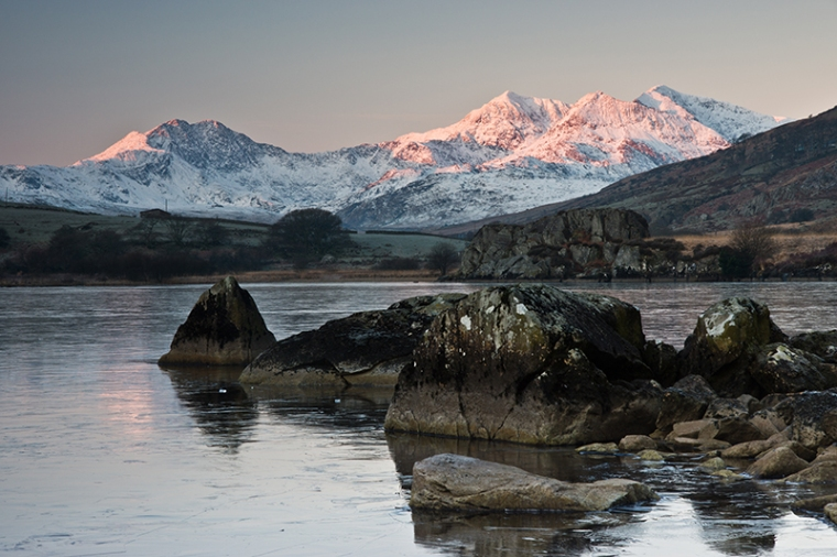 Snowdon in winter
