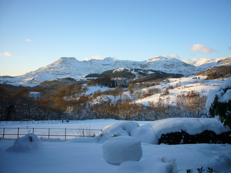 Winter View over the Vale of Ffestiniog