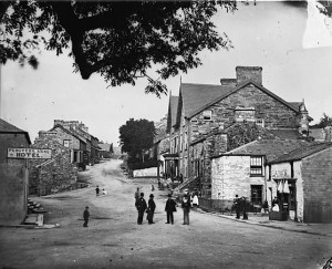 Ffestiniog Village 1881 by John Thomas