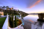 Portmeirion sunrise