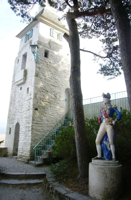 Nelson & The Observatory Tower, Portmeirion