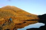 Y Lliwedd November sunset