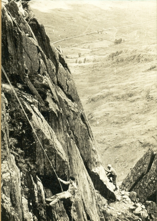 First Pinnacle Rib, East Face of Tryfan