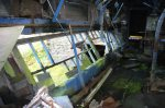 Maenofferen main winding house with clutch and brake levers