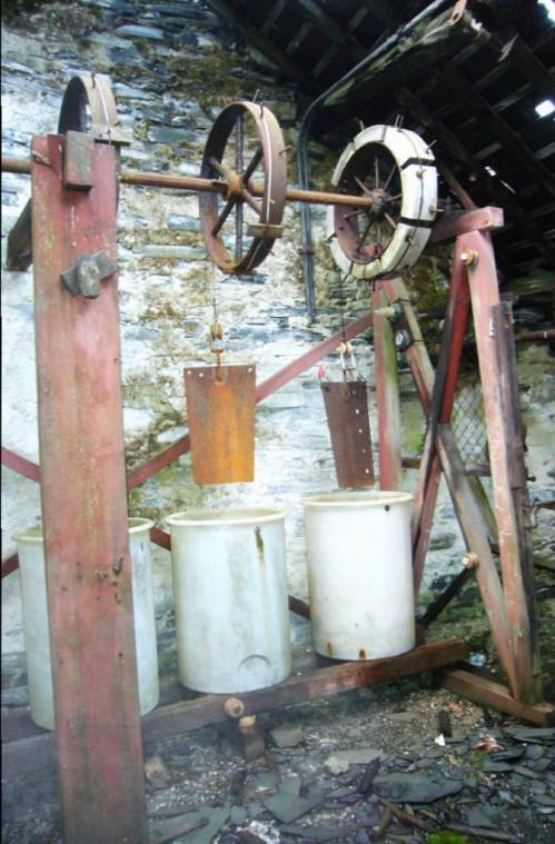 Primitive water resistances
