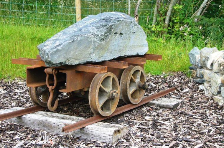 Slab Wagon at Dolwyddelan