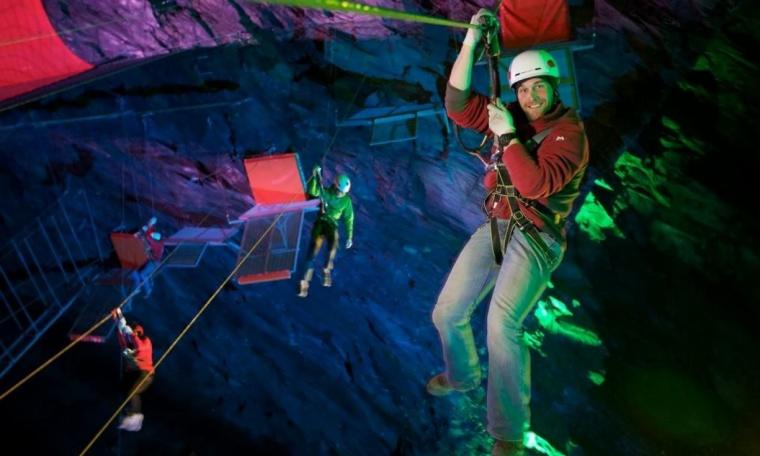 Zip World Caverns 1