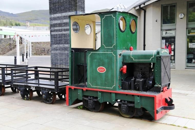 Quarry loco in Blaenau
