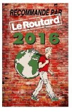 Recommended by the Guide du Routard 2016
