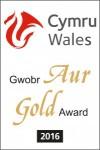 Visit Wales Gold Award 2016
