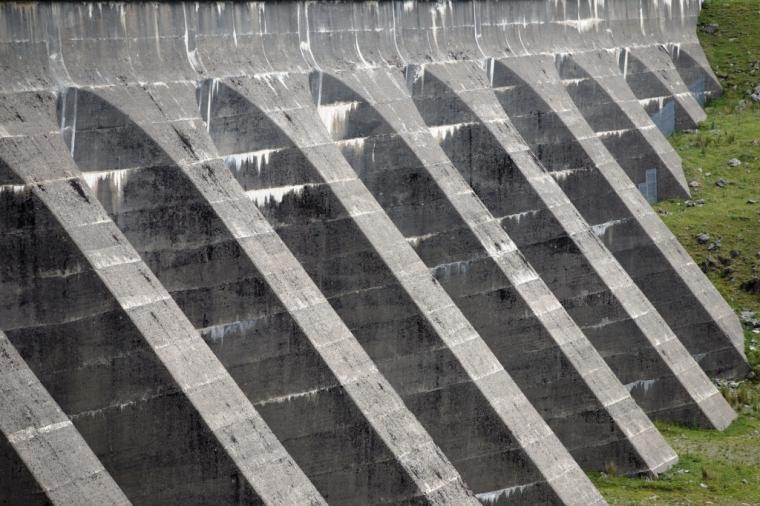 Stwlan Dam detail