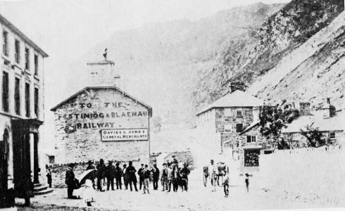 Davies & Jones Offices in Blaenau Ffestiniog, later to be known as Cae'r Blaidd Offices