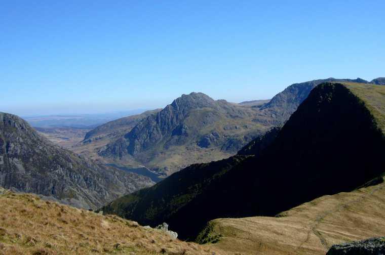 Ogwen Valley from Mynydd Perfedd